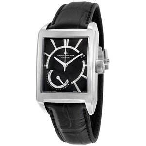 Reloj Maurice Lacroix Negro Rectangular PT6207-SS001-330