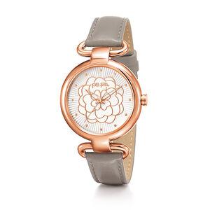 Reloj mujer Folli Follie rose correa piel WF15R030SPW