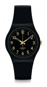 Reloj negro de silicona gb274 Swatch