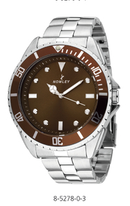 Reloj Nowley Hot esfera marron