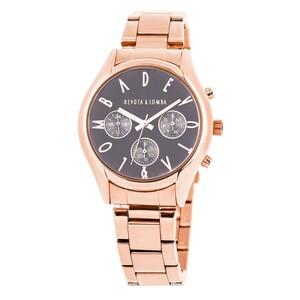 Reloj oro rosa mujer, esfera gris 8435432511701 DEVOTA Y LOMBA Devota & Lomba