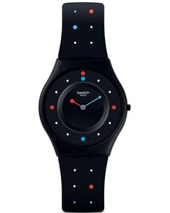 Reloj paleo negro sfb146 Swatch