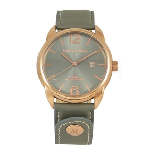 Reloj piel hombre, esfera gris 8435432512210 Devota & Lomba