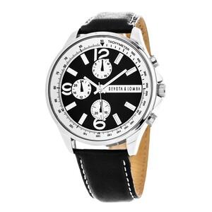 Reloj piel hombre, esfera negra 8435432511862 DEVOTA Y LOMBA Devota & Lomba
