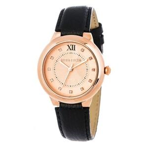 Reloj piel negra mujer 8435432512098 Devota & Lomba