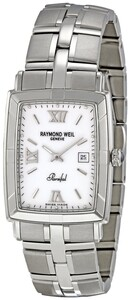 RELOJ RAYMOND WEIL PARSIFAL RECTANGULAR CABALLERO 9341-ST-00307