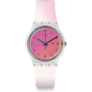 Reloj rosa de silicona ge719 ultrafushia Swatch