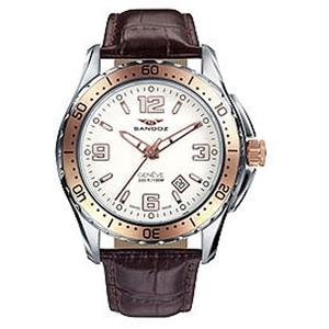 Reloj Sandoz hombre de piel 81331-90