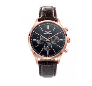 Reloj Sandoz rosado hombre 81465-57