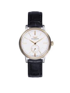 reloj sandoz señora acero oro  81318-99