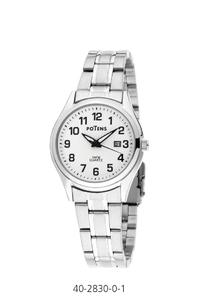 Reloj señora Potens Roma caja y pulsera de acero  40-2830-0-1