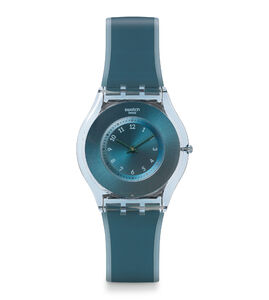 Reloj skin azul dive-in sfs103 Swatch