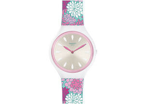 Reloj skin flores svoz100 Swatch