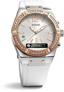 RELOJ SMART WATCH GUESS SILICONA BLANCA C0002M2