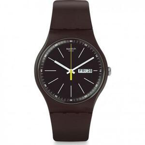 Reloj marron suoc704 Swatch