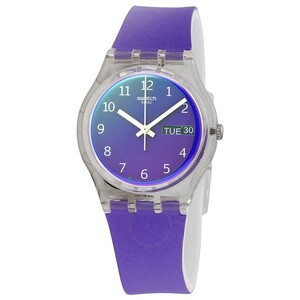 reloj swatch lila ge718