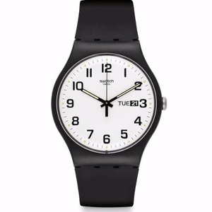 Reloj Swatch Once Again negro