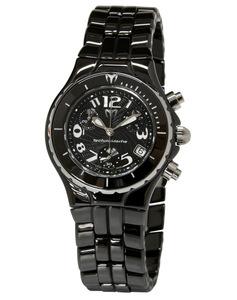 Reloj Technomarine crono cerámica negra TLCCB02C