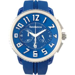 Reloj tendence  caja policarbonato color azul F04B