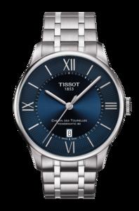 Reloj TISSOT CHEMIN DES TOURELLES POWERMATIC 80 AZUL T099 407 11048 00 T099.407.11.048.00