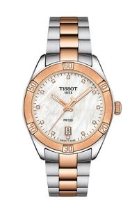 Reloj TISSOT SPORT CHIC PR100 SEÑORA BICOLOR ROSA T101 910 22 116 00 T101.910.22.116.00