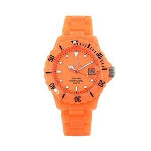 RELOJ TOY WATCH FLUO DISCO ONLY TIME ORANGE DIAL FLD06OR