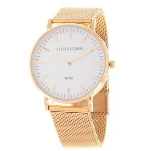 Reloj Unisex Devota y Lomba DL015U-02WH 8435334803775 Devota & Lomba