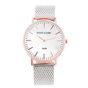Reloj Unisex Devota y Lomba DL015U-03PLWH 8435334803980 Devota & Lomba