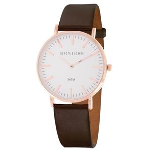 Reloj Unisex Devota y Lomba DL015UL-03BRWHITE 8435334803874 Devota & Lomba