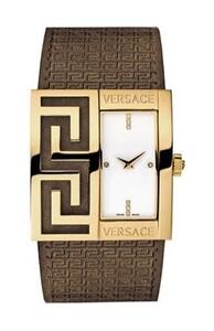 Reloj Versace  correa piel - dorado 1000419