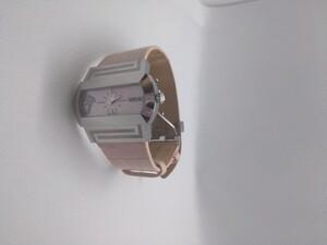 Reloj Versace Mujer Correa piel rosa