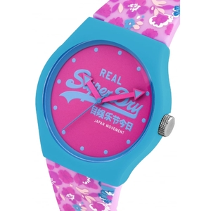Reloj Superdry mujer azul rosa SYL169UP