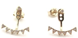 Pendientes Shine Triangle Gold