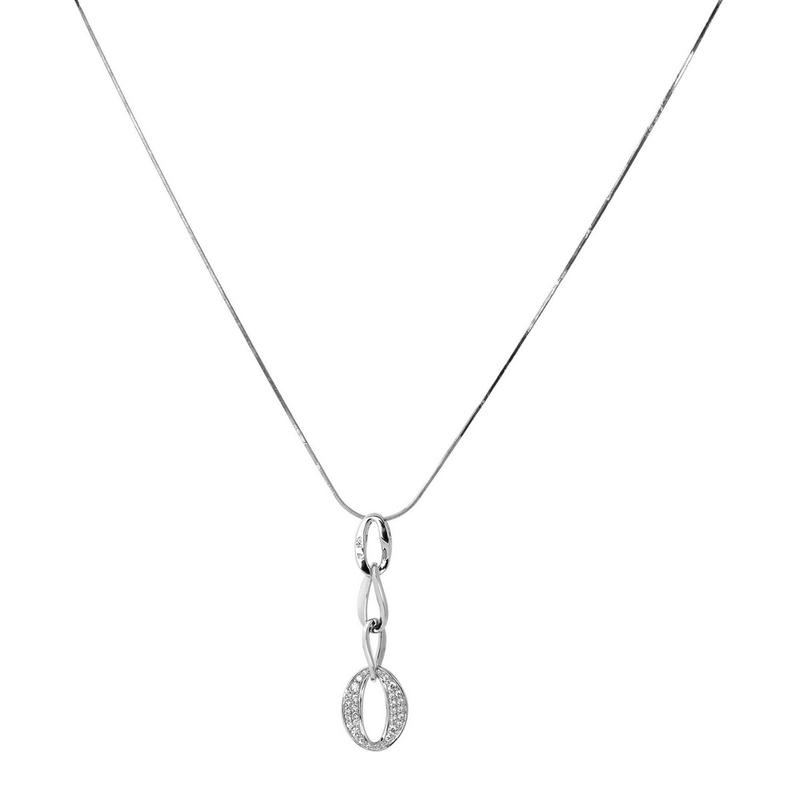 Abalorio collar colgante aros circonio 8435334802945 DEVOTA Y LOMBA Devota & Lomba