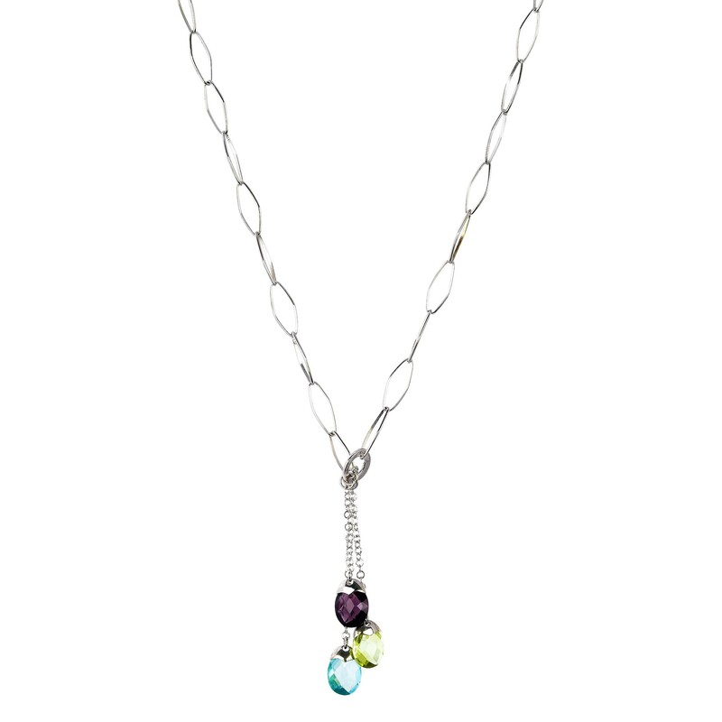 Abalorio collar colgante con cristales de colores 8435334801122 DEVOTA Y LOMBA Devota & Lomba