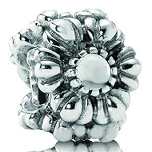 Abalorio Pandora con cristal roca 790580BK