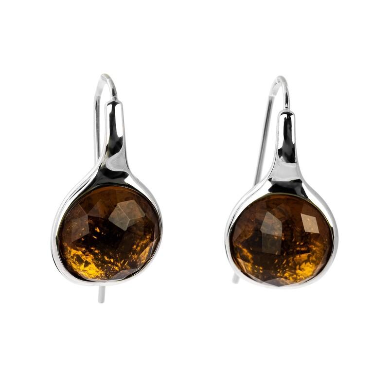 Abalorio pendientes bañados con cristales dorados 8435334801191 DEVOTA Y LOMBA Devota & Lomba