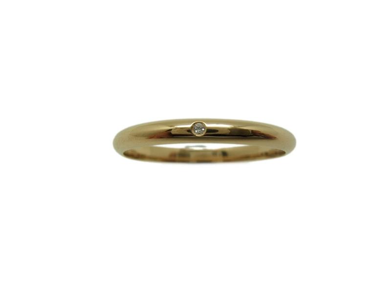 95ed6a11497a ANILLO Alianza y aro boda media caña en oro amarillo y Brillante MCOGB10  B-79. Cargando zoom