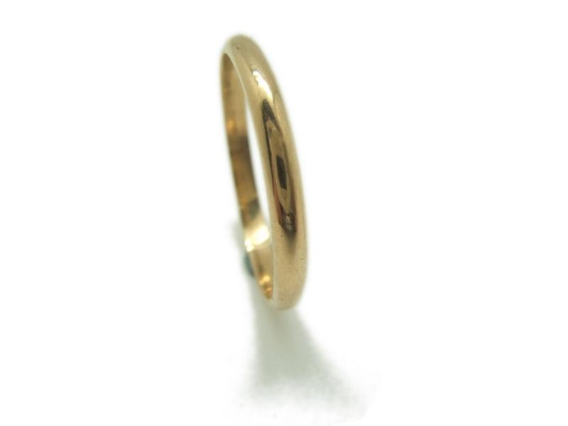 d9ed9eaddb02 ANILLO Alianza y aro boda media caña en oro amarillo MCOG15 B-79. Cargando  zoom