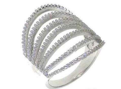 Anillo de plata  andv 024 Kavak Diamonds