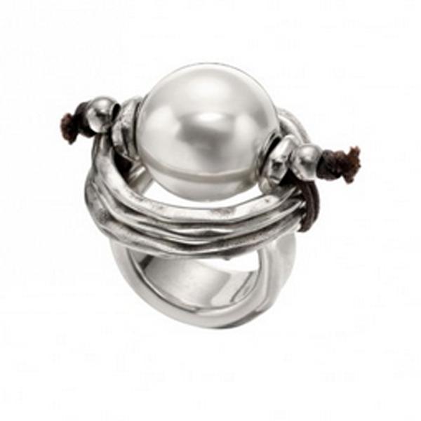 Anillo perla grande Uno de 50 ANI0390