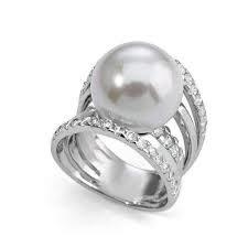 Anillo SORTIJA PLATA Majorica 2313-perla