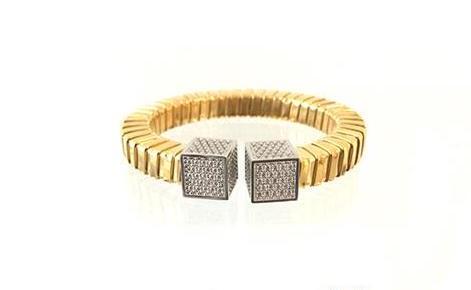 Brazalete de plata brcl074 Kavak Diamonds