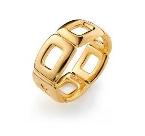 Brazalete Viceroy Chapada en oro