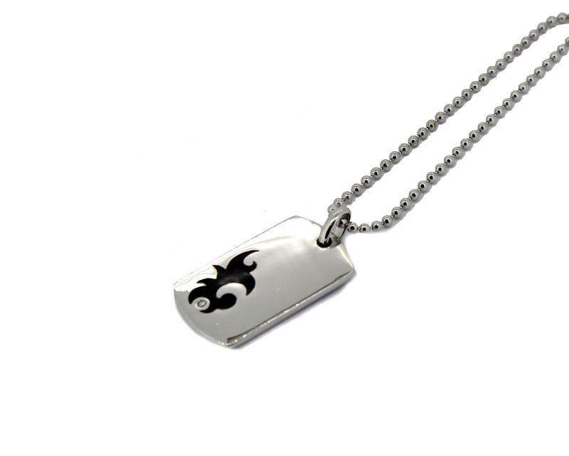 Collar Cadena de bolas con colgante en plata macizo Hot Diamonds  MP024-90-62-00