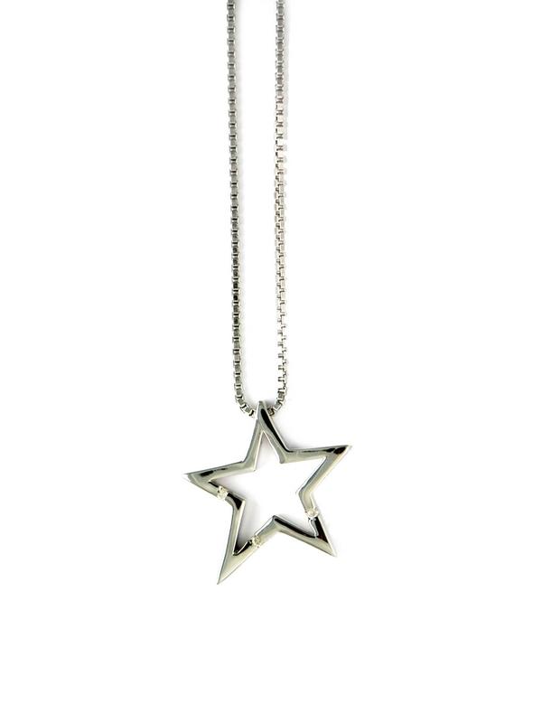 Collar Cadena Veneciana con Colgante Estrella  MISMAREFERENCIADP093 Hot Diamonds P093-