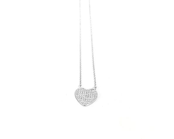 Collar de plata clms019 Kavak Diamonds