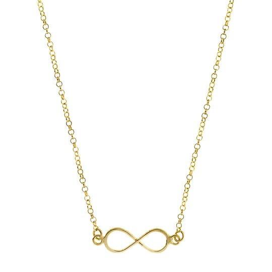 Collar Infinito gold 8435445310742 Lua Blanca