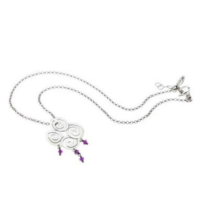Collar Lotus Silver  1075-1-1