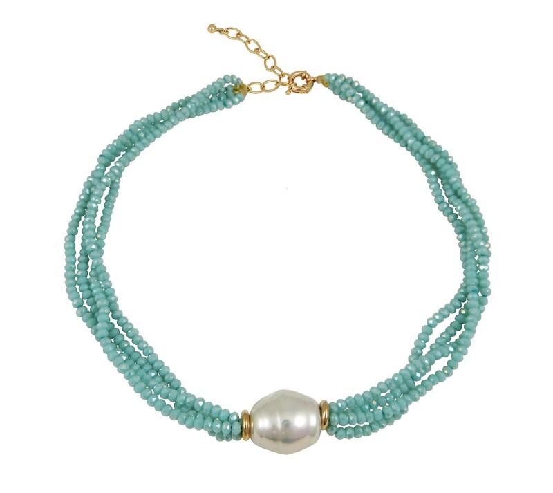 Collar Mujer DEVOTA Y LOMBACDL193939-BLUE 8435334800583 Devota & Lomba